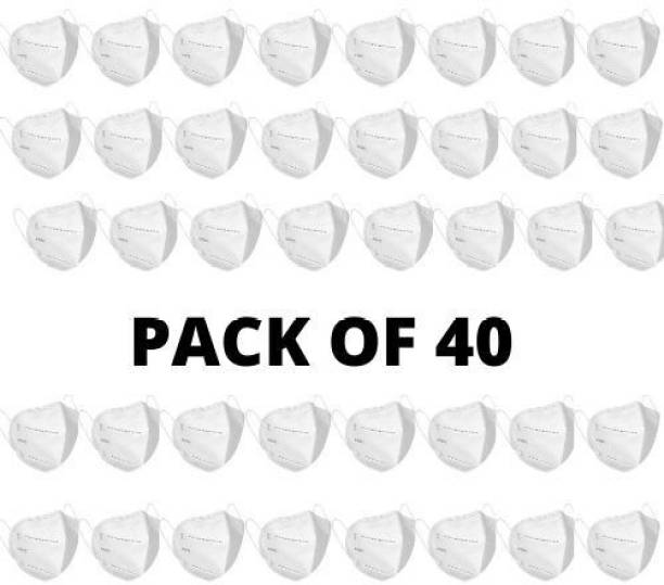 kehklo N95 Mask (Pack of 40) Reusable , Anti Virus and Pollution Mask N9540