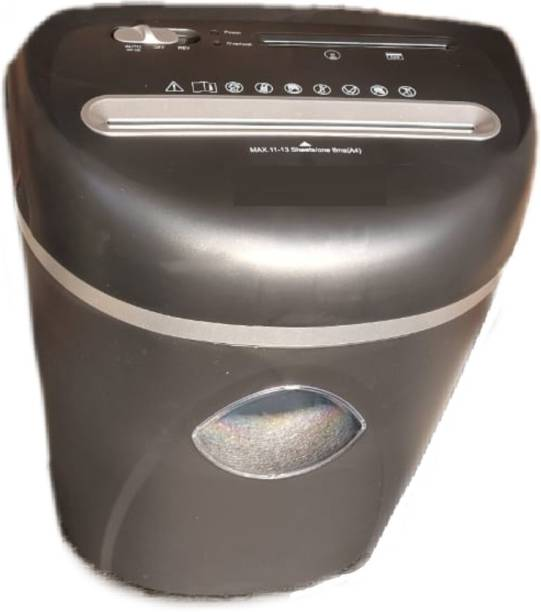 Security Store Heavy Duty Micro - Cut 13 sheets Paper Shredder for Home/Office Use Paper Trimmer