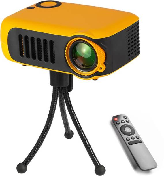 BabyTiger LED Projector Mini Beamer Multi-media Portable Projector Video Game Home Cinema Theater 1000 lm LCD Corded Mobiles Portable Projector