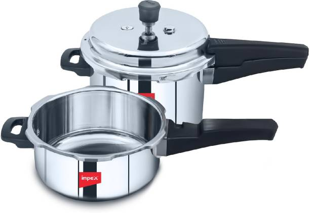 IMPEX EP 3C5 3 L, 5 L Induction Bottom Pressure Cooker