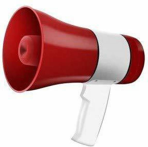 RFV1 30 Watts Handheld Megaphone with Recorder USB and Memory Card Input for Announcing; Talk; Record; Play; Siren; Music with Battery and Charger Indoor, Outdoor PA System