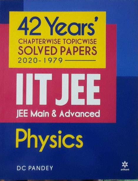 42 Years' Chapterwise Topic Wise Solved Papers IIT JEE Main & Advanced 2020-1979