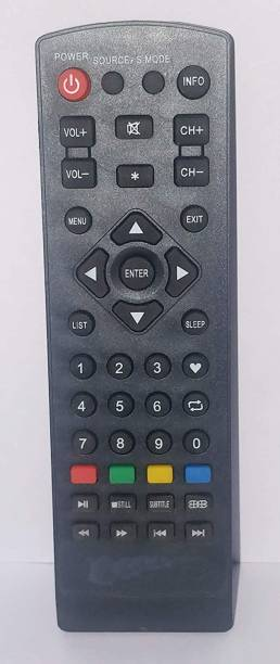 Electvision Remote Control for Micromax LED And LCD TV Televisions (Please Match The Image with Your Existing Remote Before Placing The Order Before) Micromax LED / LCD TV Remote Controller