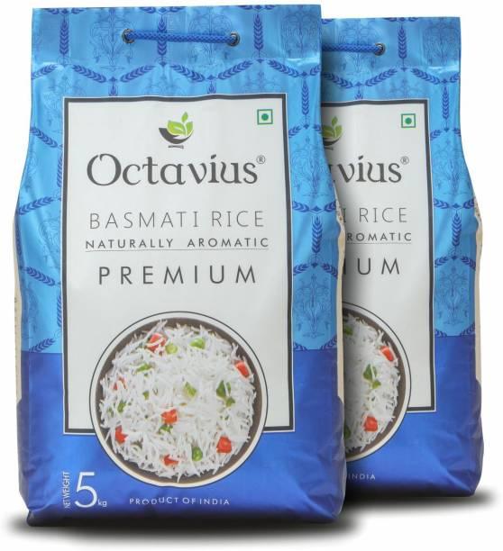 Octavius Premium Basmati Rice (Long Grain, Steam)