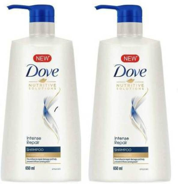 DOVE Intense Repair Shampoo 650ml pake of 2