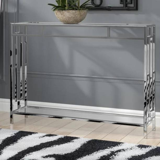 Aspenville Steel Console Table