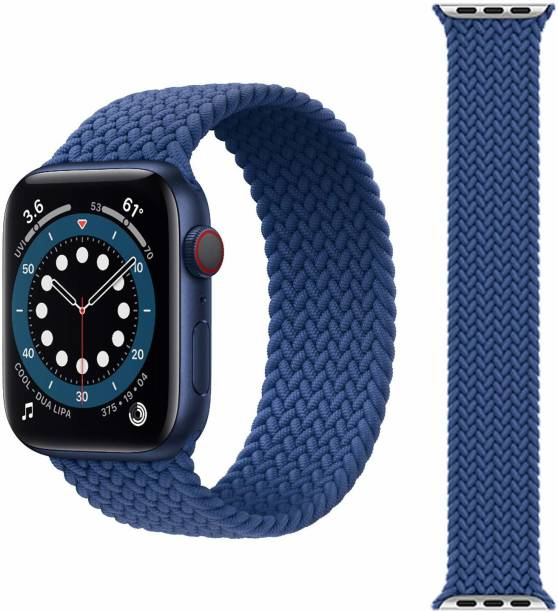 Dallas Apple Watch Band 42mm, 44mm Soft Stylish Nylon Lightweight Loop Straps Material For iWatch Series 6/5/4/3/2/1/SE Smart Watch Strap