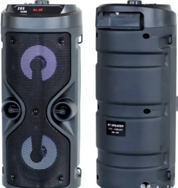 rich hood Super Bass BT Wireless Portable Speaker ZQS-4210 12 W Bluetooth Speaker