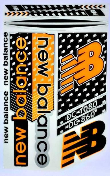 NB BOM NEW BALANCE DC 1080 CRICKET BAT STICKER Bat Sticker