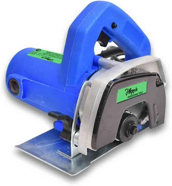 Hillgrove Heavy Duty Professional Cutting Machine Saw for Tile/Marble/Granite/Wood/Metal with Depth adjustement Two Blades Marble Cutter