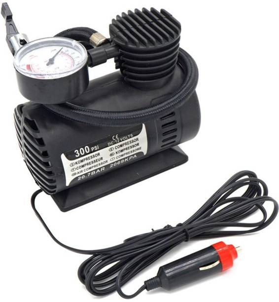 SANDBERG 300 psi Tyre Air Pump for Car & Bike