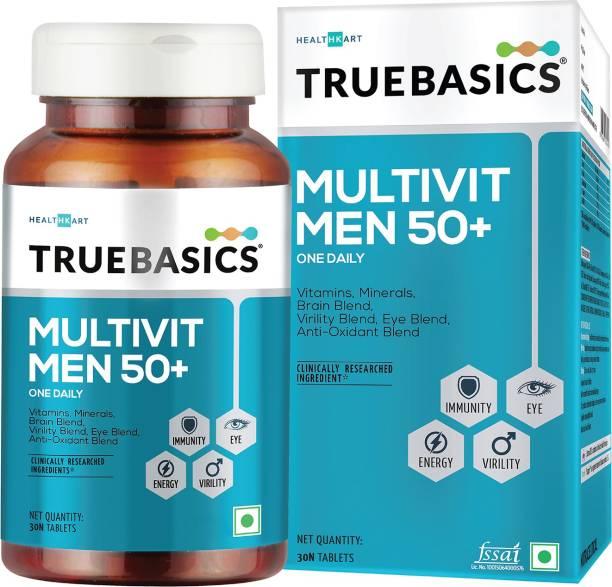 TrueBasics Multivit Men 50+