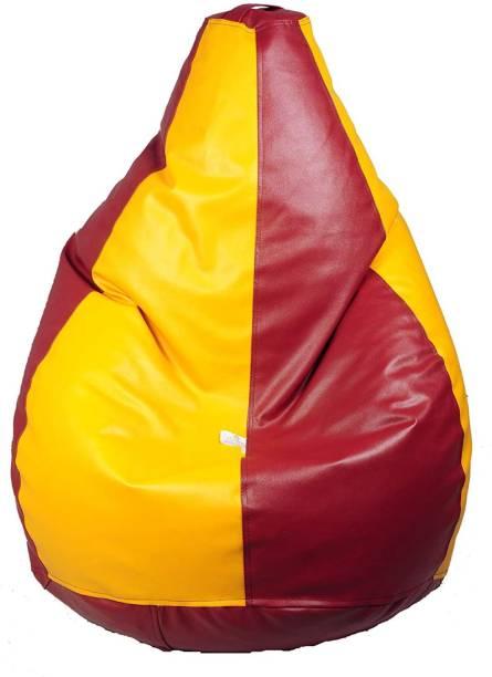 Sperova XXXL Tear Drop Bean Bag Cover  (Without Beans)
