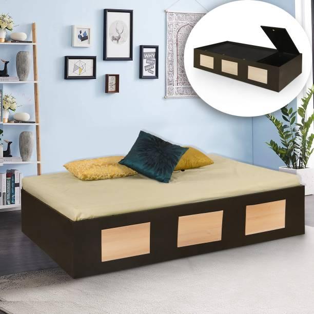 Forzza James Engineered Wood Single Box Bed