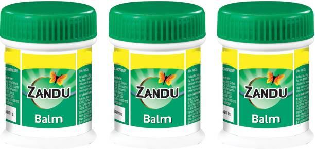 ZANDU Balm (25 ml) Pack Of 3 Balm