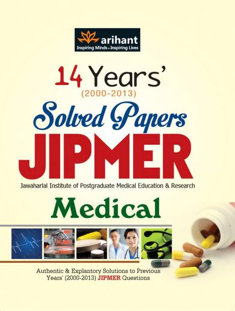 14 Years Solved Papers JIPMER Medical