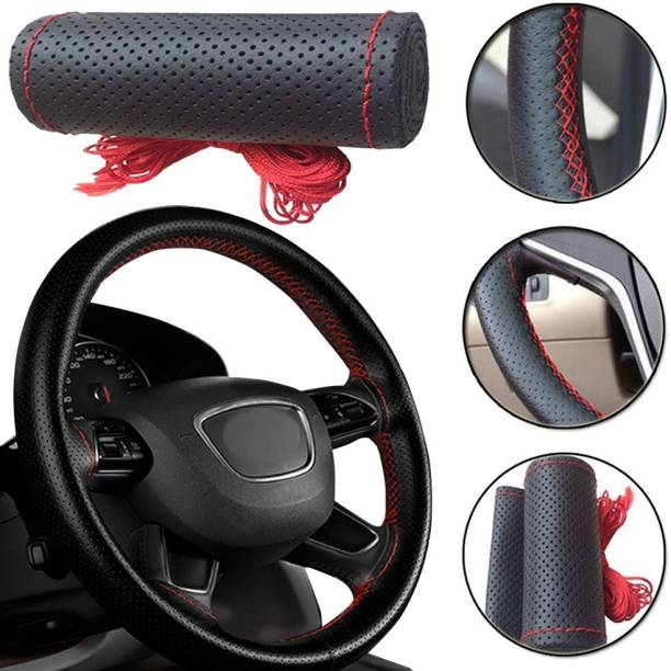 s mangalam Hand Stiched Steering Cover For Toyota Alto