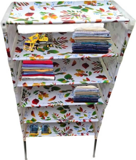 RMA HANDICRAFTS Polyester Collapsible Wardrobe