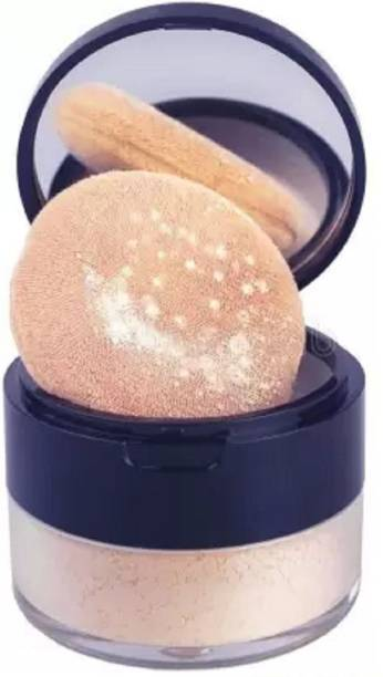 THTC OIL FREE MINERAL RICH BANANA FINISH SOFT MATTE FINISH LOOSE POWDER Compact