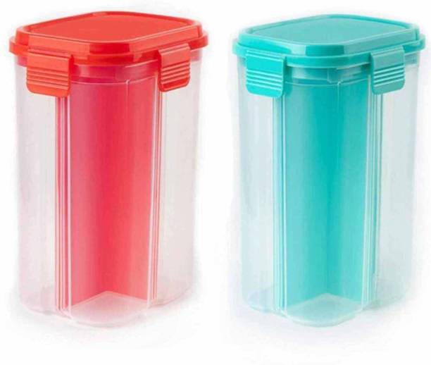 KB CREATION  - 2000 ml Plastic Grocery Container