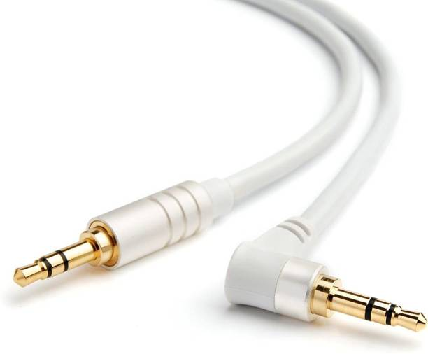 BlueRigger 3.5MM Angle Male to Male Stereo Audio Cable (6 Feet / 1.8 Meters) 1.8 m AUX Cable