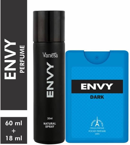 ENVY Men Perfume & Pocket Perfume Combo Deodorant Spray  -  For Men