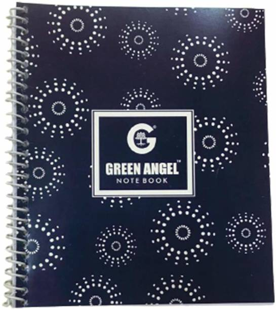Green Angel Recycled A6 Notebook Single Ruled 80 Pages
