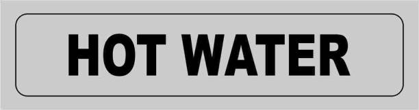 madhusigns hot water Emergency Sign