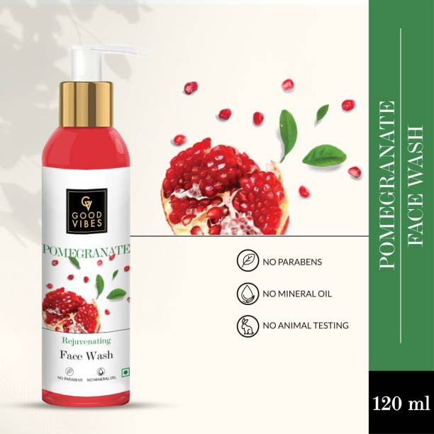 GOOD VIBES Pomegranate  Face Wash
