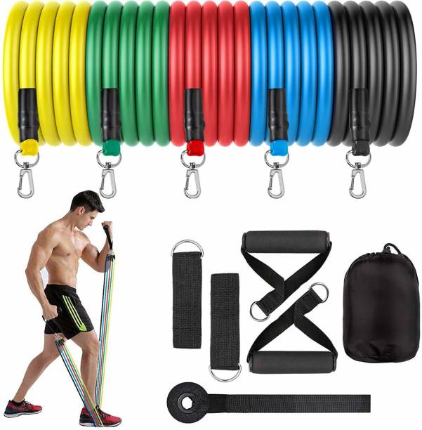 Xain resistance band home workout gym exercise training men & women Fitness Band Resistance Band