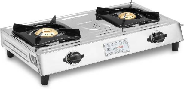 Greenchef Super Slim Stainless Steel Manual Gas Stove