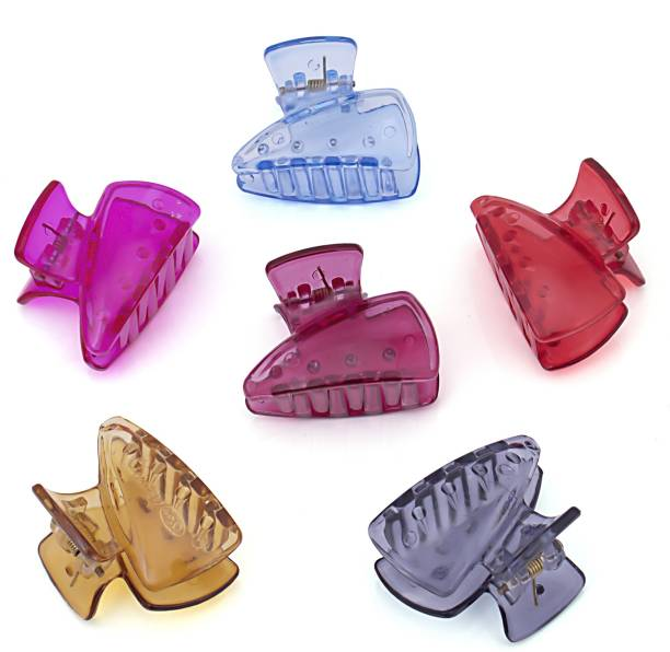 Sukkhi Beautiful Butterfly Hair Clip Hair Accessories for Women and Girl (Pack of 6) (Size : M) Hair Claw