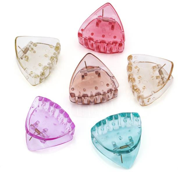 Sukkhi Elegant Butterfly Hair Clip Hair Accessories for Women and Girl (Pack of 6) (Size : M) Hair Claw