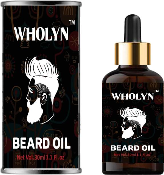 WHOLYN Michael Jackson Beard oil fast Beard Growth  Hair Oil
