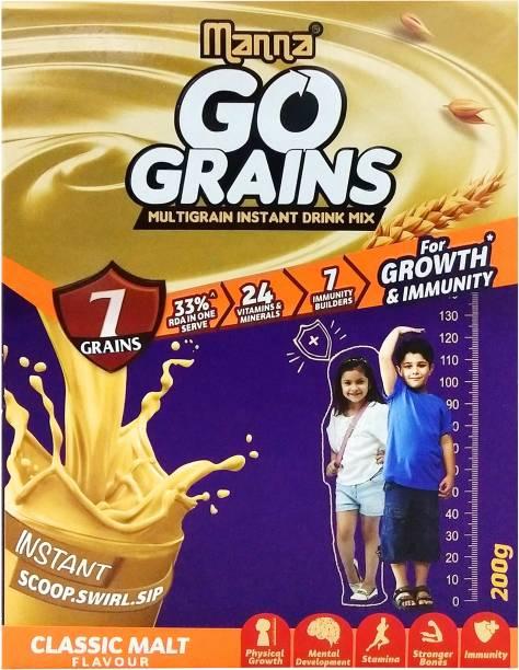 Manna Go Grains Classic Malt for Growth & Immunity