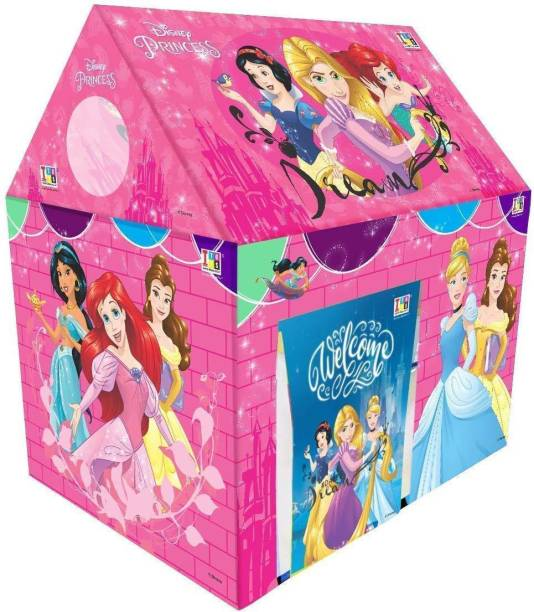 DAIWIK ENTERPRISE Jumbo Size Extremely Light Weight , Water Proof Kids Play Tent House for 10 Year Old Girls and Boys (Princess)