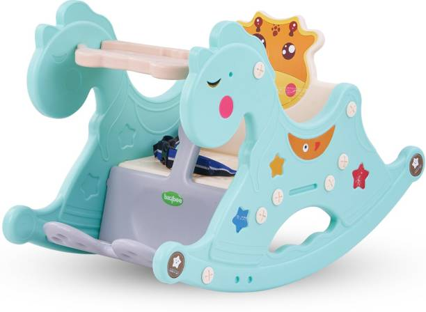 baybee Baby Rocking Horse for Kids, Baby Chair for Kids, Plastic Swing Horse Ride-on Toy for Kids- Baby Rocking Table Chair for Kids Indoors & Outdoors for Boys and Girls 12 Months - 3 Years