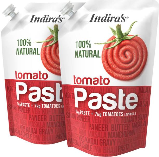 Indira Tomato Paste 200g Pack of 2