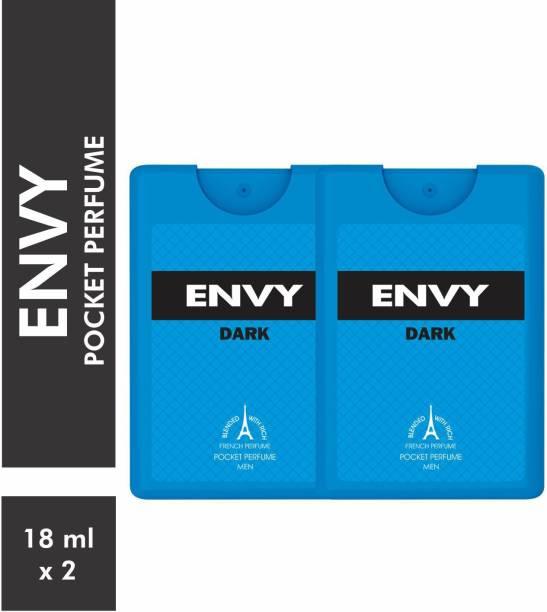 ENVY Dark Pocket Perfume (Pack of 2) Eau de Parfum  -  72 ml