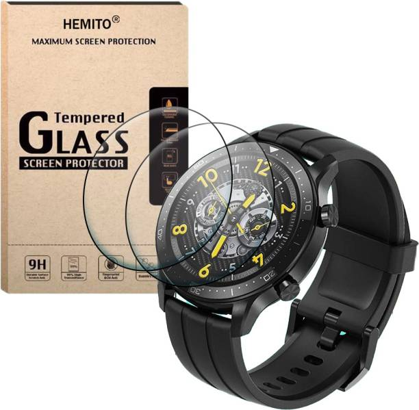 Hemito Edge To Edge Tempered Glass for Realme S Pro Smart Watch
