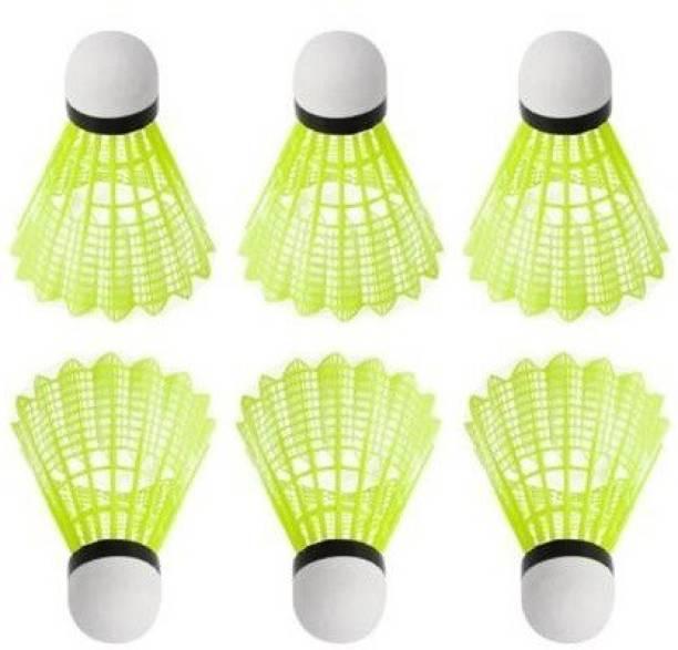 Kiraro High Quality Badminton Shuttle Cock Nylon Shuttle  - Multicolor