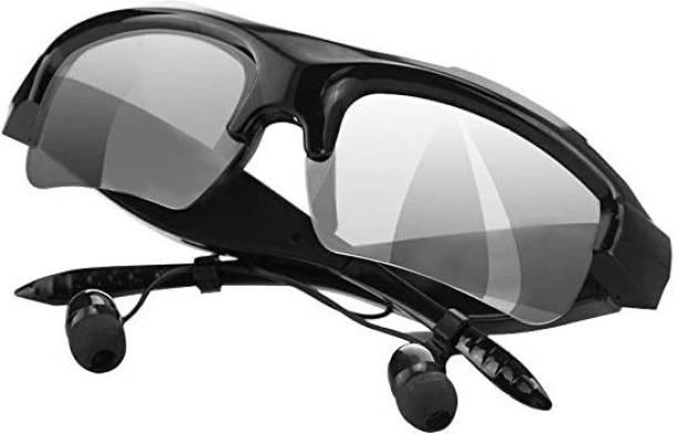 Dilurban New Collection Headphone Sunglasses Bluetooth Earphone Deep Bass Lightweight Bluetooth Headset Sunglasses Headphone Sport Stereo Wireless Bluetooth Headphones With Hands-Free Calling Function