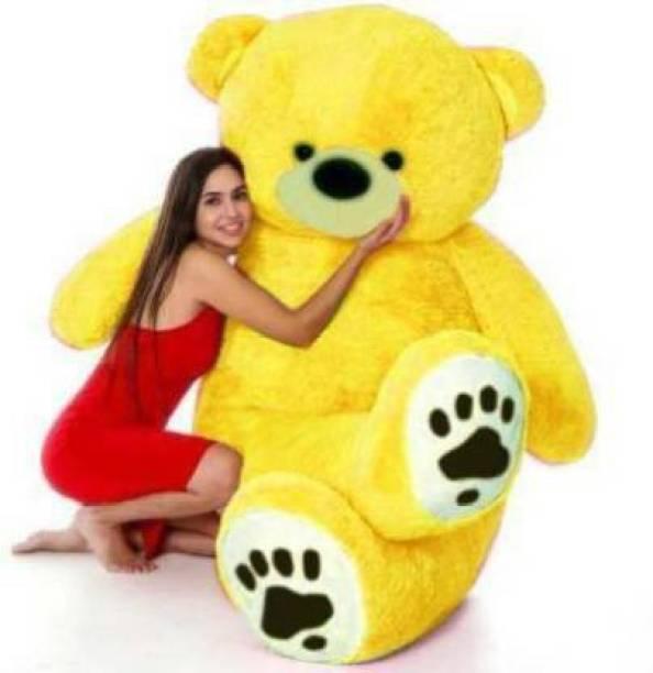 TEEDY WEDDY teddy Bear American Yellow Teddy for valentine & Anniversary / birthday Very Cute Looking Soft Huggable American Style Teddy Bear  - 122 cm