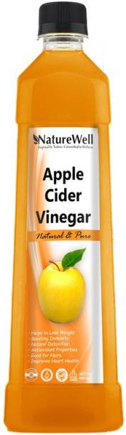 Naturewell Organics Raw Apple Cider Vinegar with Mother for Weight Loss Vinegar (OR)Pro Vinegar