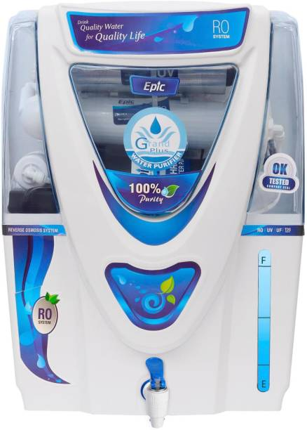 Grand plus EPIC 17 L RO + UV + UF + TDS Water Purifier