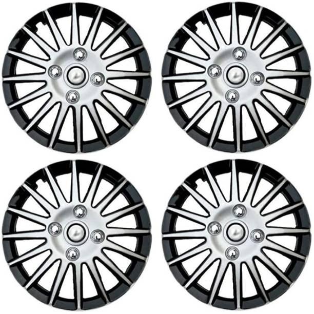 Ubom Dual Color Silver Black 14-inch Tyre Sport Rim cover Wheel Cover For Maruti Swift Dzire