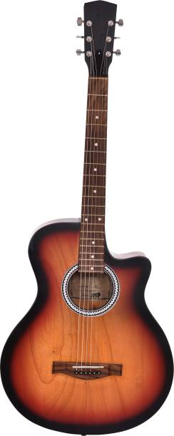 Blueberry 38C IN TrUssrod Sunburst Rosewood, Mahogany, Basswood Acoustic Guitar