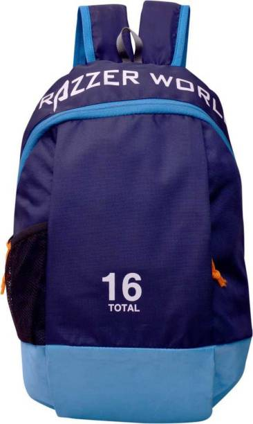Frazzer Unisex Outdoor Travel Rucksack for Small Hiking, Cycling, Picnic, Camping & Multipurpose 16L Backpack (Blue) 15 L Backpack