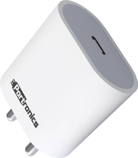 Portronics Adapto 20 POR-1238 20 W 3 A Mobile Charger
