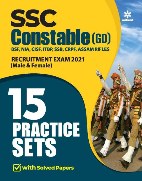 15 Practice Sets Ssc Constable Gd 2021